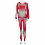 Mamir's Express - Long Sleeved Ladies Pajamas Set
