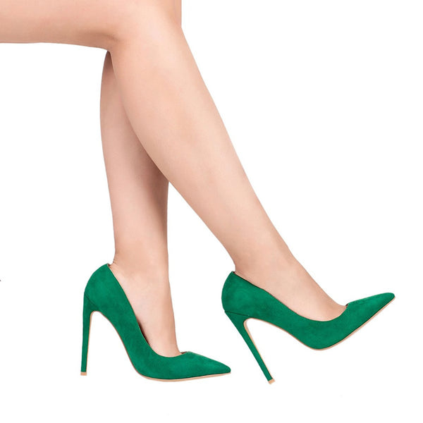 Mamir's Express - High Heels Pointed Toe Stiletto Women Pumps Shoes