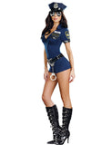 Mamir's Express - Ladies Police Fancy Halloween Costume Sexy Outfit Woman Cosplay