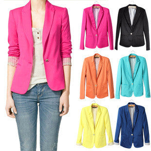Blazer jacket made of cotton & spandex with lining