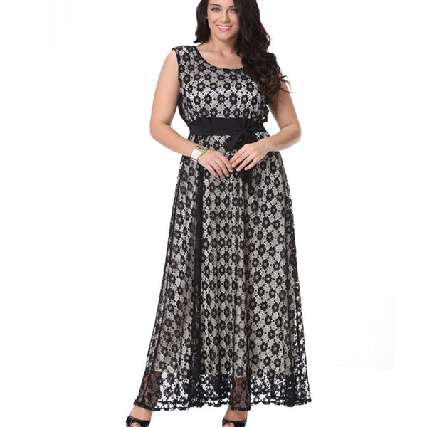 88c31f1099a Lace Maxi Plus Size Dress For Women. Sale price  54.97 Regular price   109.97 Sale. Mamir s Express - Long Sleeve ...