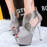 Stiletto Sexy Metal women High Heels Women Pumps