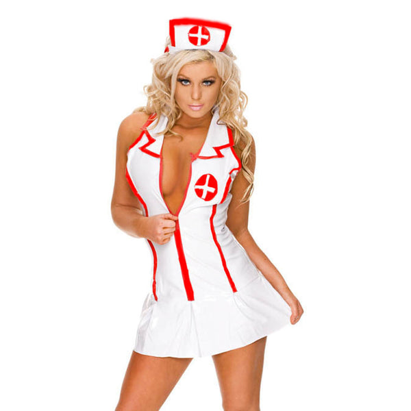 Women Nurse Cosplay Lingerie Sets