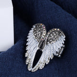 Mamir's Express - Angel Wings Stretch Ring Women Biker Bling Jewelry