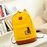 New Canvas 9 colors  Travel School Rucksack College Ladies Girls Backpack School Bag