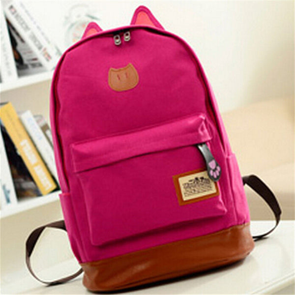 ea01b56c2a Mamir s Express - Canvas Travel School Rucksack Girls Backpack ...