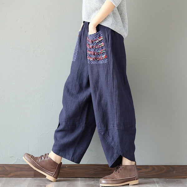 Mamir's Express - Loose Trousers Wide Leg Pants