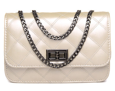 Mamir s Express - Ladies Shoulder Bag Small Crosbody Bags with Chains Flap  Messenger Bag ab4209994d8bf