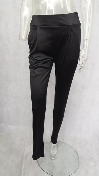 Mamir's Express - High Waist Tight  Elegant Women Harem Pants