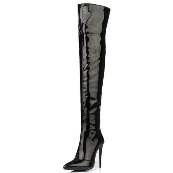 Mamir's Express - High Heel Sexy Over The Knee Thigh High Autumn Winter Women Boot