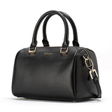 Mamir's Express - Boston Series Retro Leather Round-top Women Shoulder Bags Top-Handle