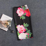 Mamir's Express - Floral Print High Waist Pencil Skirt
