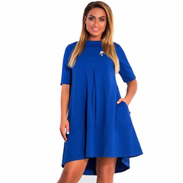 Cotton Plus Size Dresses Ibovnathandedecker