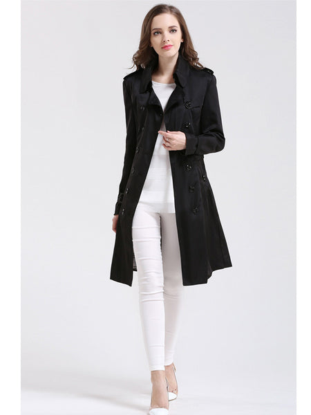 Trench Coat For Women  Double Button