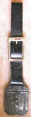Joy Silver Streak  Watch Fob Heavy Equipment Rock Drill