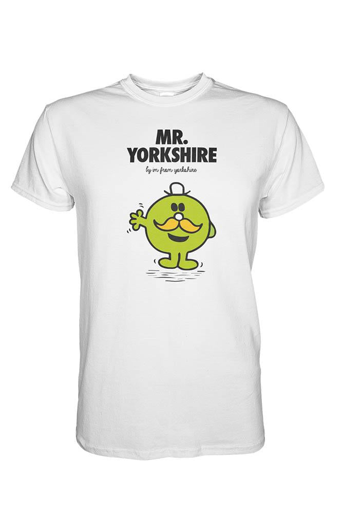 Mr Yorkshire white Yorkshire T-Shirt