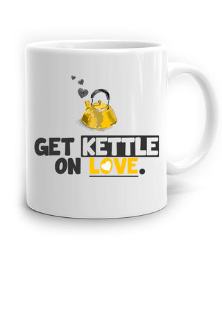 Get Kettle On Love Mug