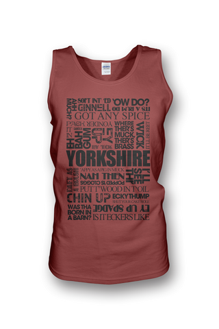 Yorkshire Sayings Vest