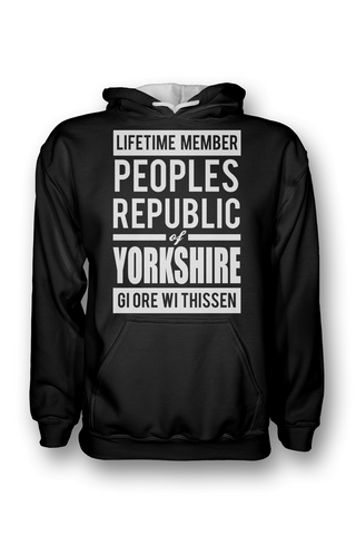 Peoples Republic of Yorkshire Hoodie