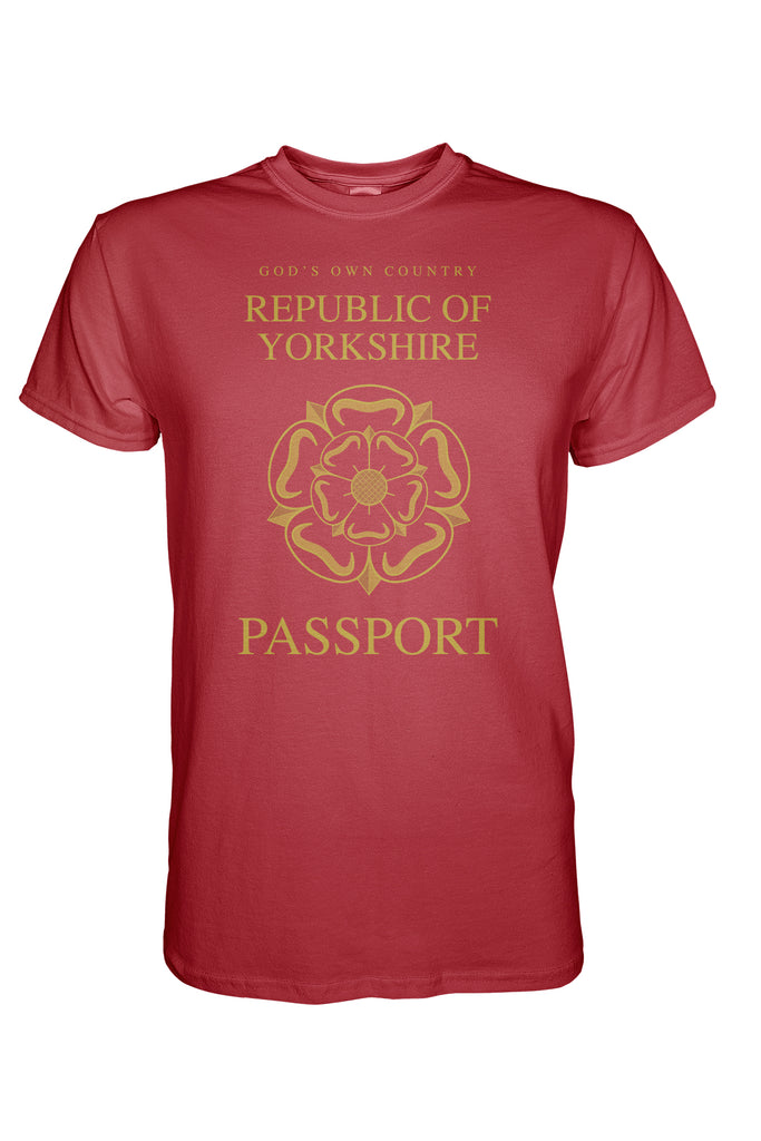 Yorkshire Passport T-Shirt