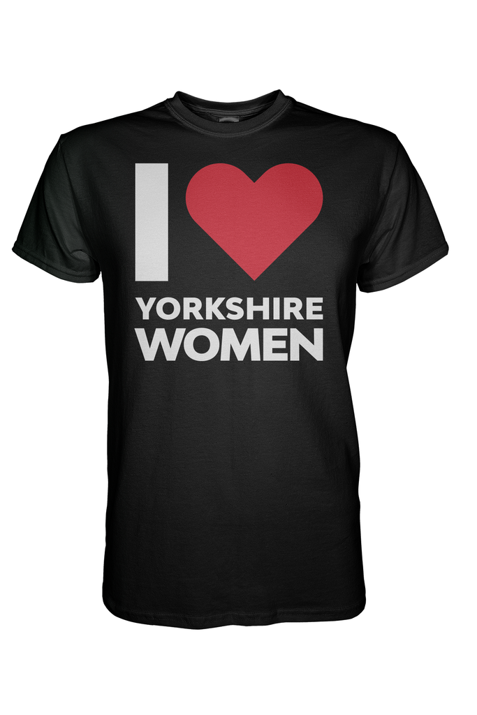 I Love Yorkshire Women T-Shirt