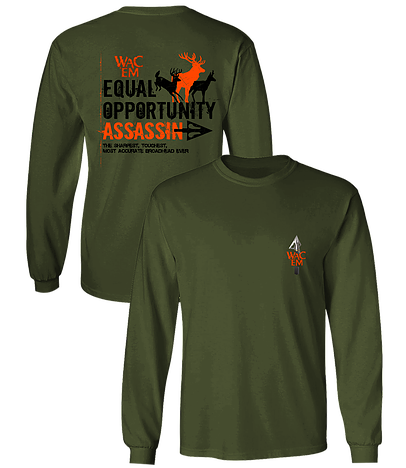 EQUAL OPPORTUNITY ASSASSIN LS TEE