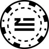 POKER CHIP ZHU MUSIC LOGO
