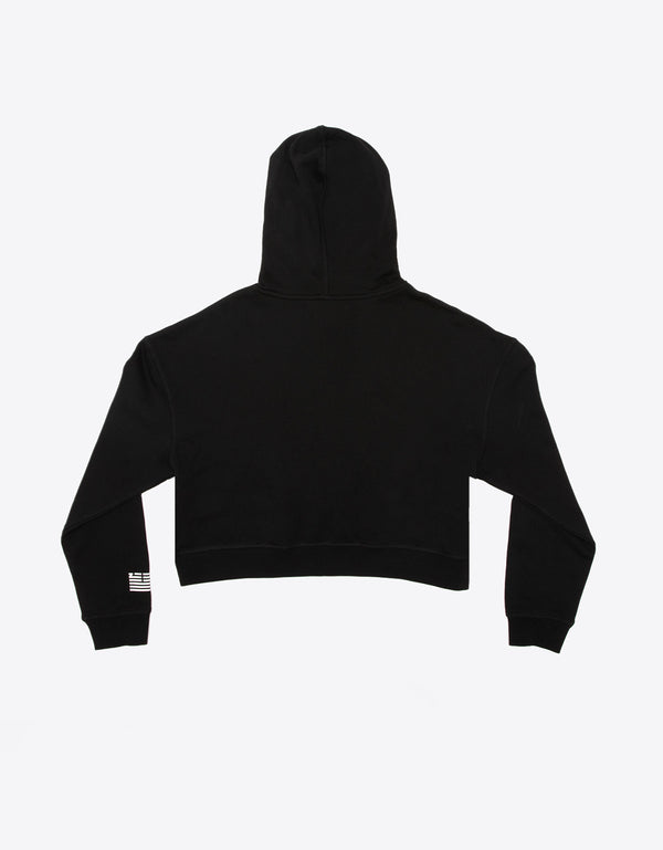 LOW CROP HOODY