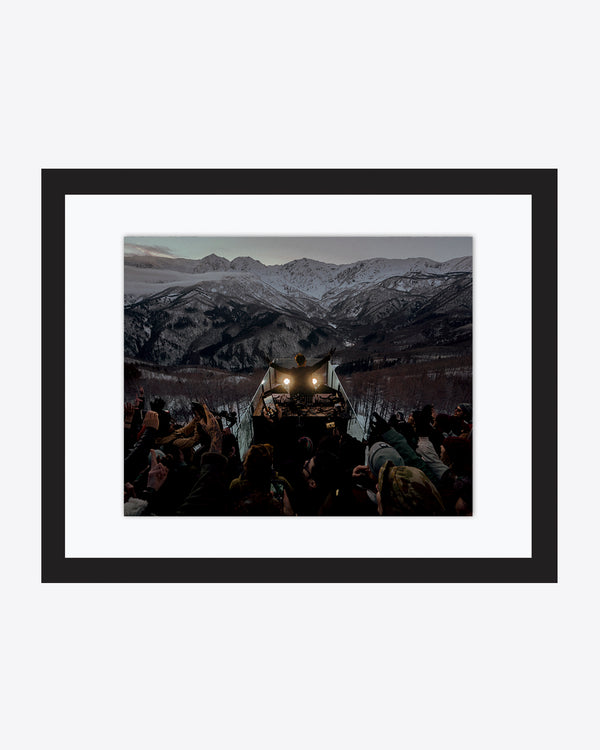 CERCLE HAKUBA MOUNTAIN ART PRINT