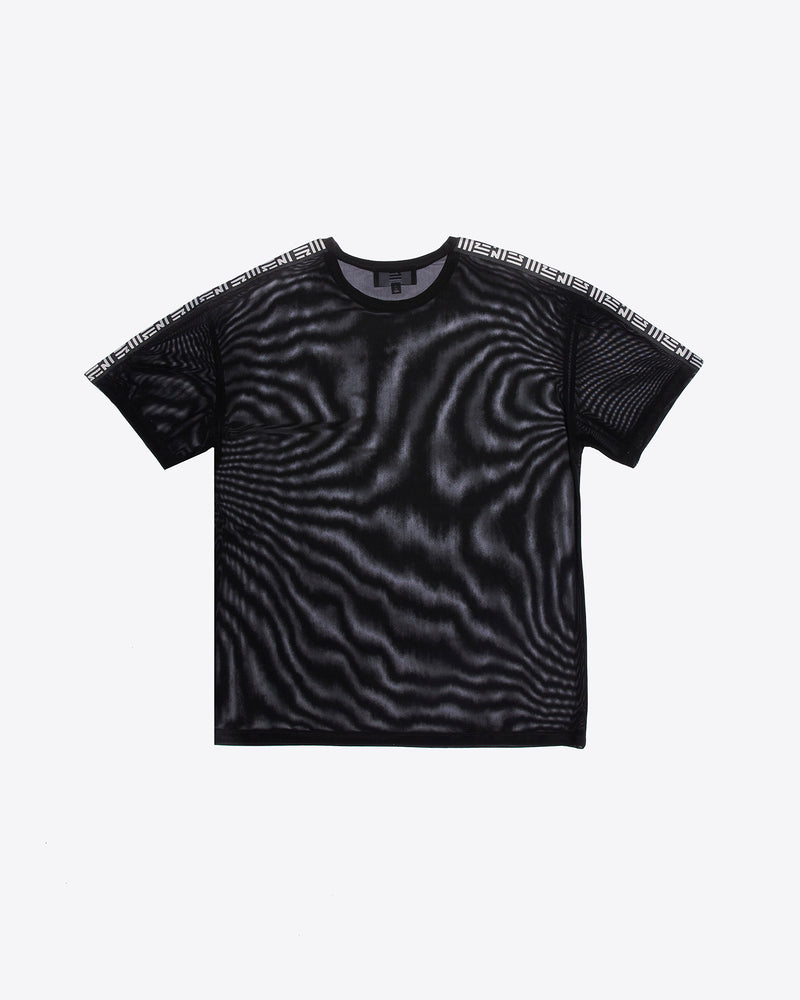 MESH TEE WITH TAPING