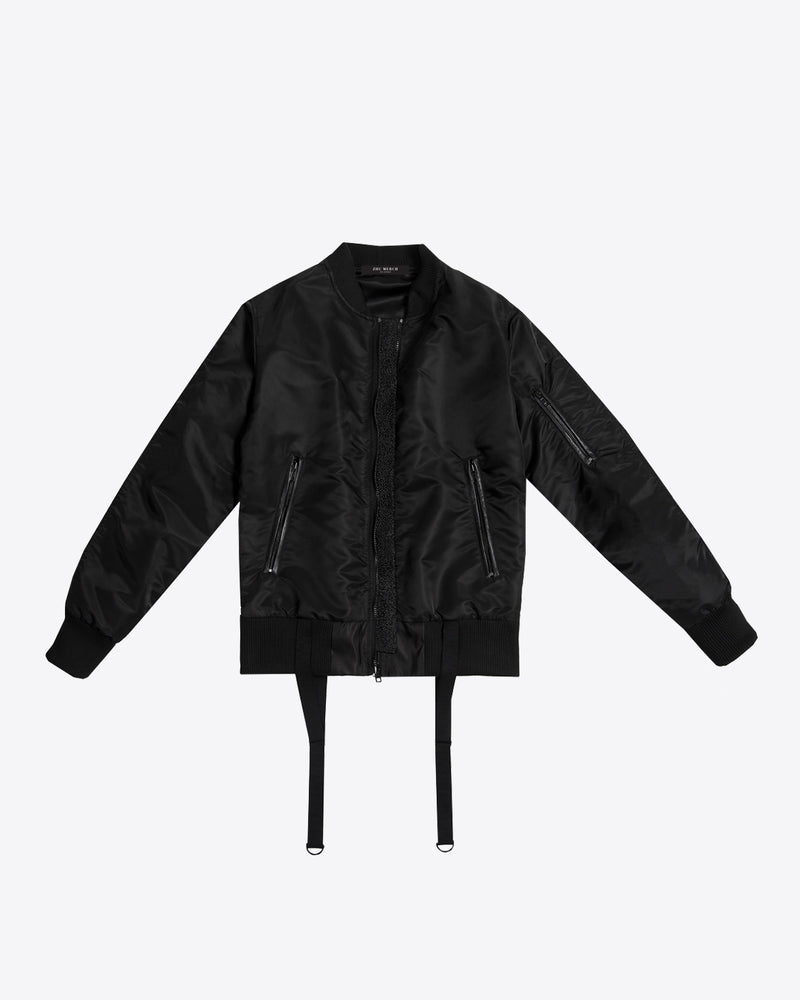 SUKAJAN SATIN STING RAY BOMBER