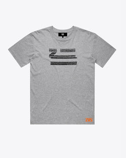 ZTV HEATHER GRAY TEE