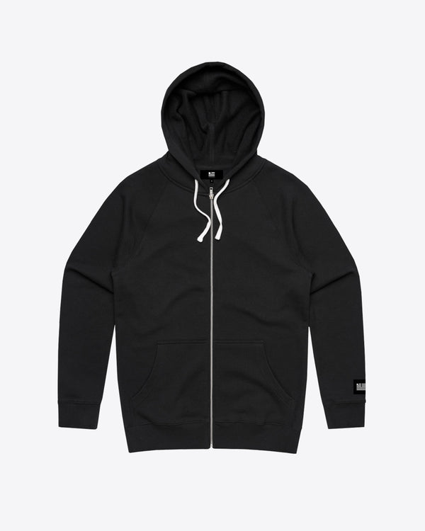 GAS MASK ZIP UP HOODIE