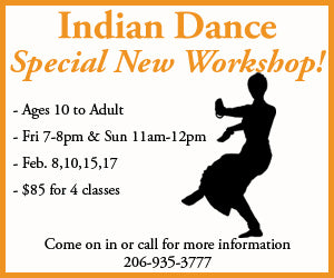 Indian Dance Class In West Seattle
