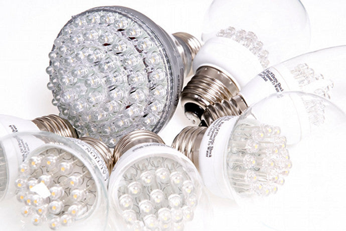 The benefits of LED bulbs.