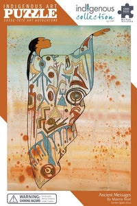 Indigenous  Art Puzzle : Ancient Messages by Maxine Noel