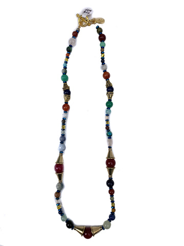J.O.A- Mixed bead necklace