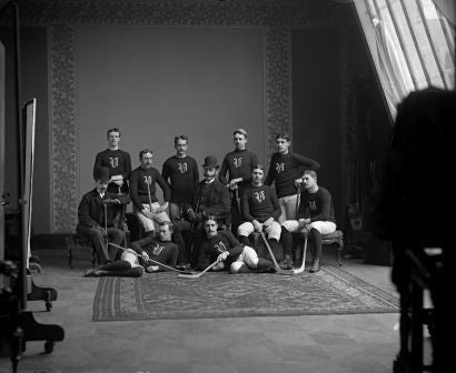Victoria hockey team, Montreal, QC, 1888