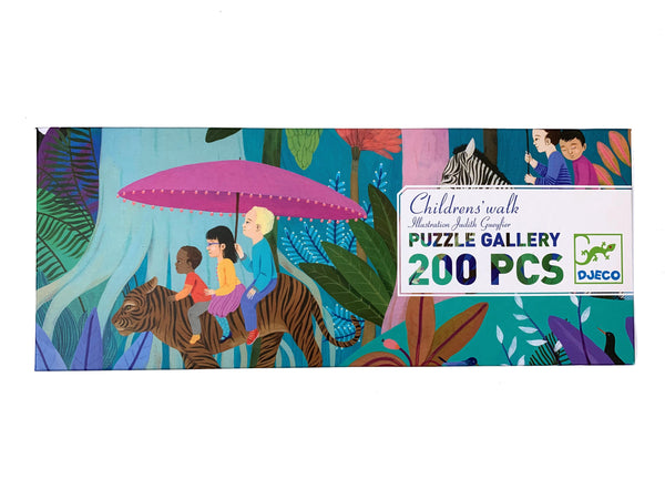 Children's Walk - Puzzle Gallery 200 pcs