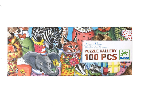 King's Party - Puzzle Gallery 100 pcs