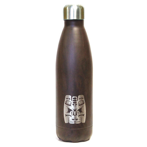Insulated Water Bottle : Bear by Allan Weir