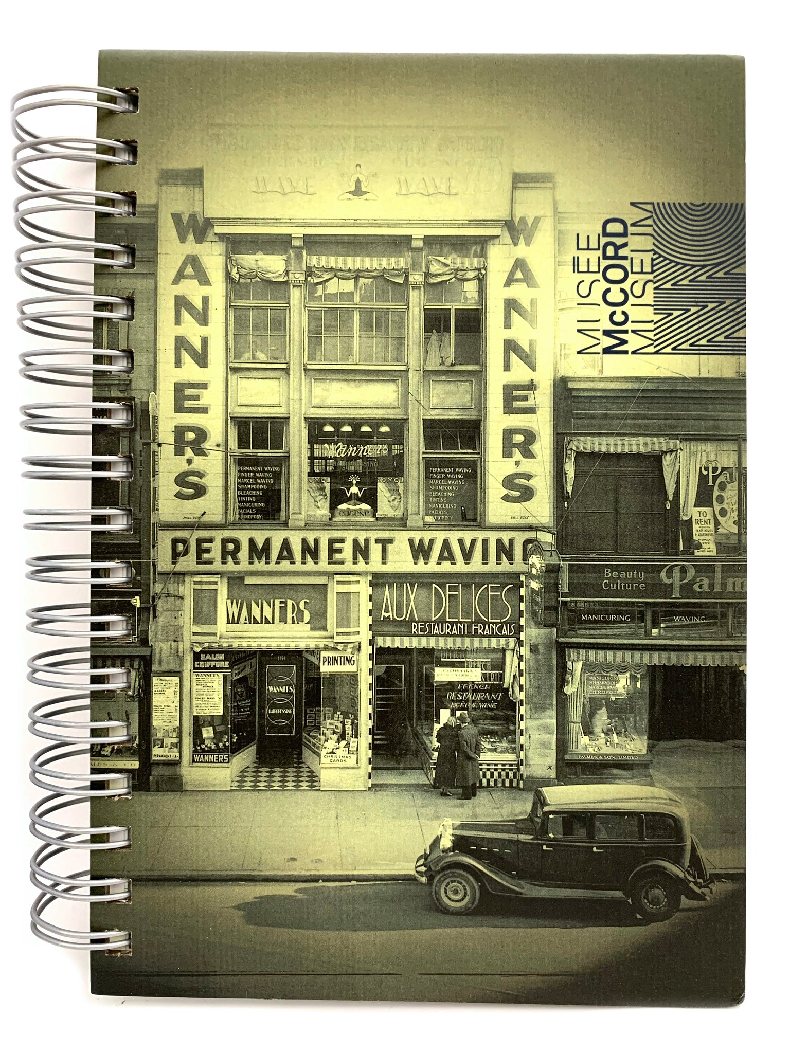 Wanner's McCord Museum notebook