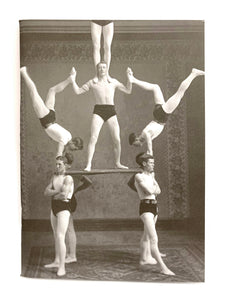 Notman notebook - McGill gymnastic group
