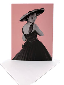 Dior Exhibition greeting card