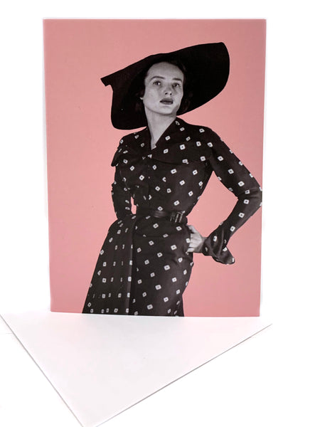 Dior Exhibition greeting card: Bonne Nouvelle