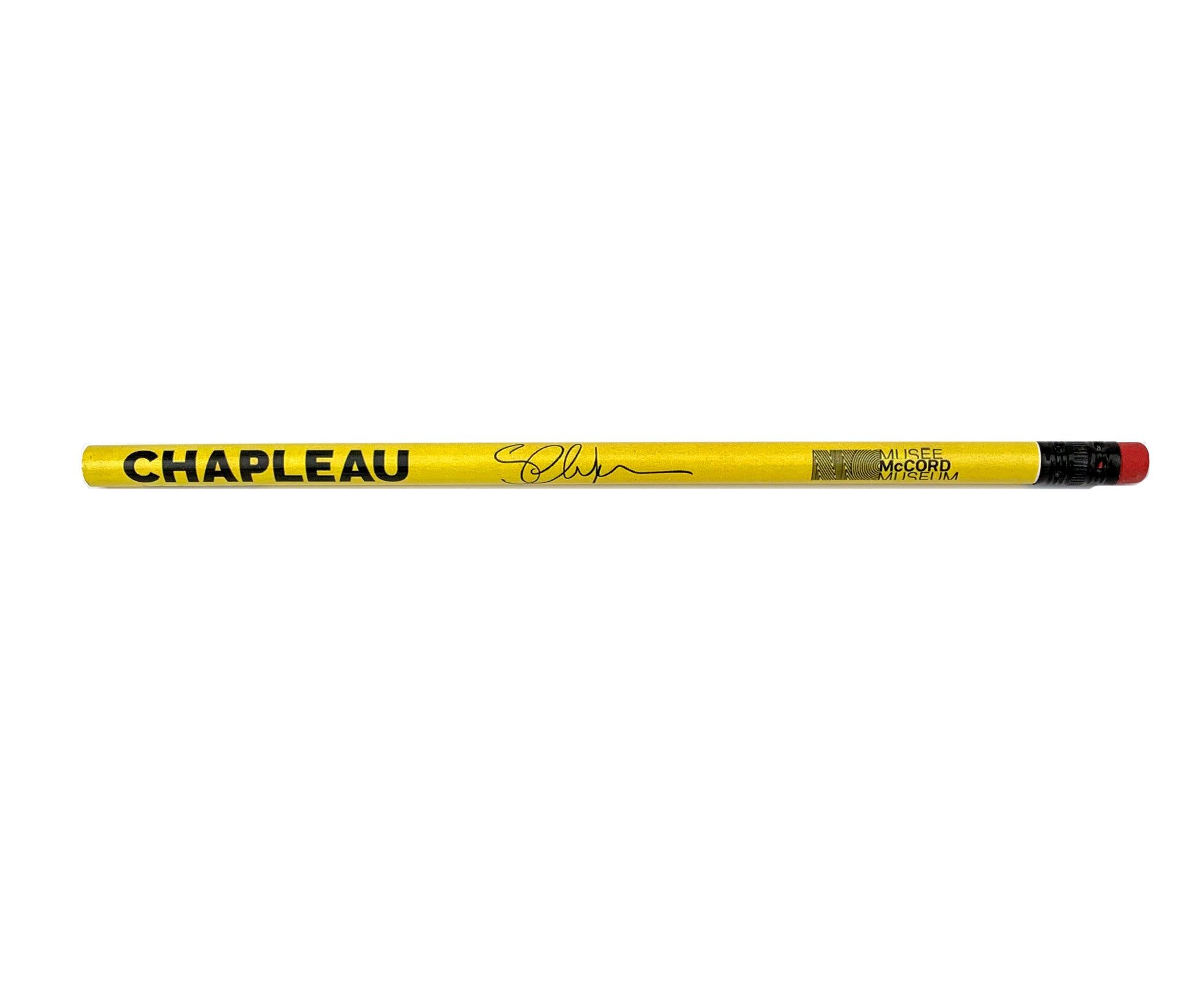 Chapleau Exhibition pencil