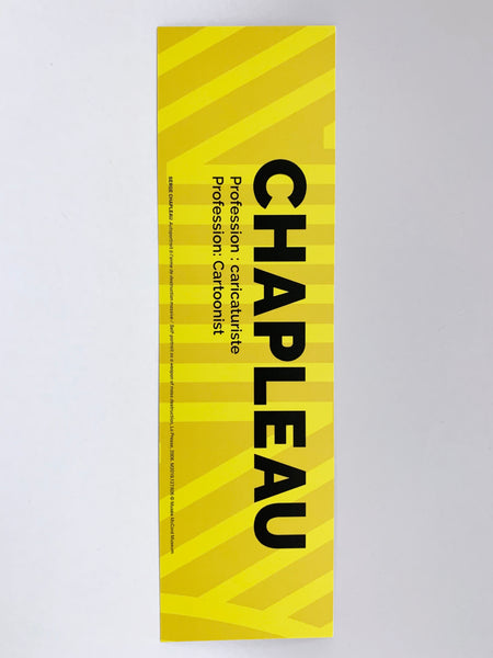 Serge Chapleau bookmark