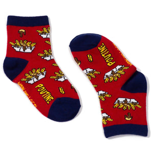 Childrens Poutine Socks