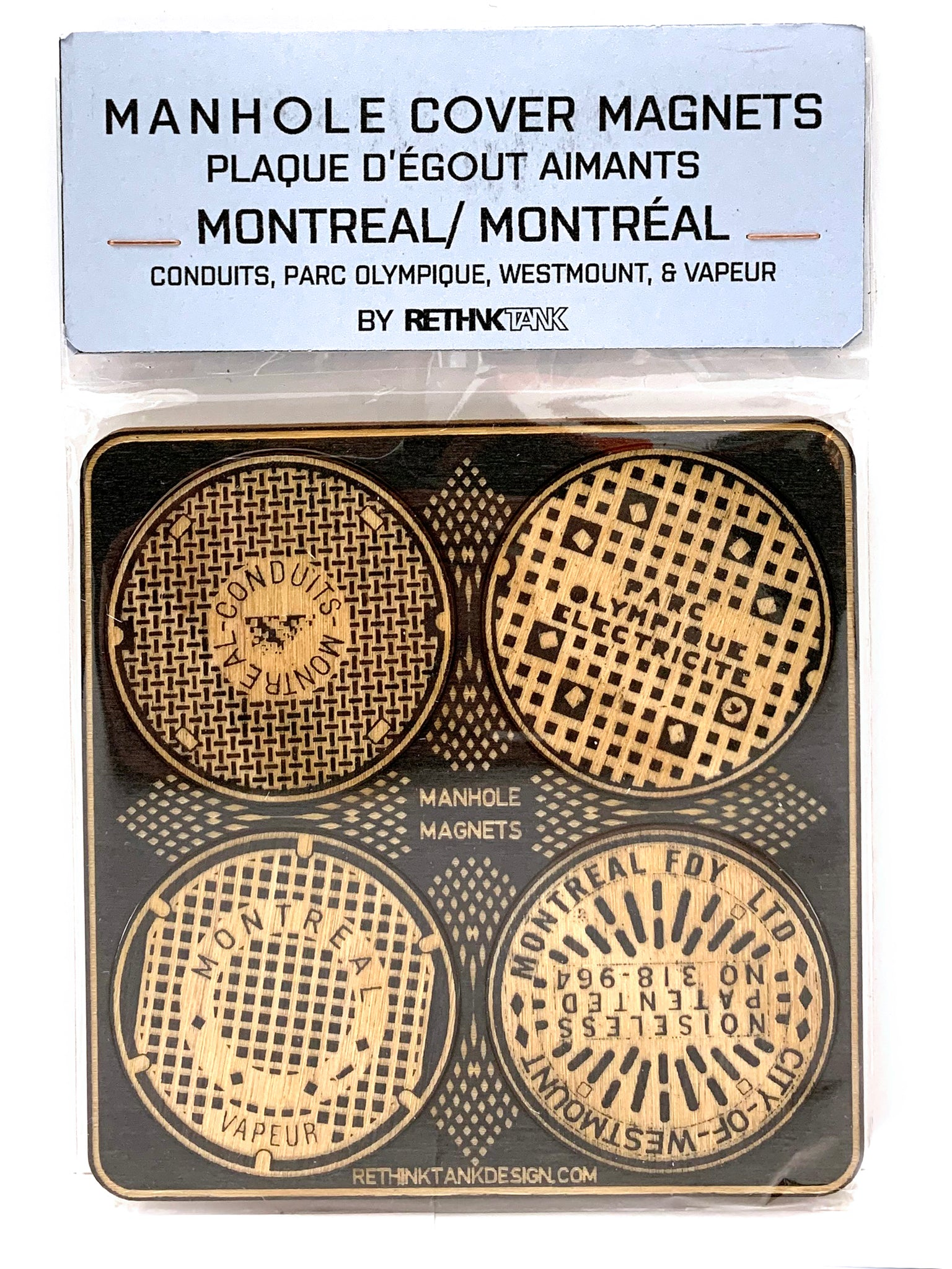 Montreal Manhole Magnets