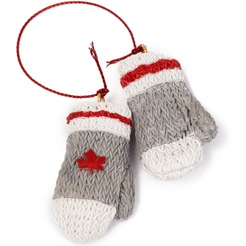 Canadian Wool Mittens Ornament